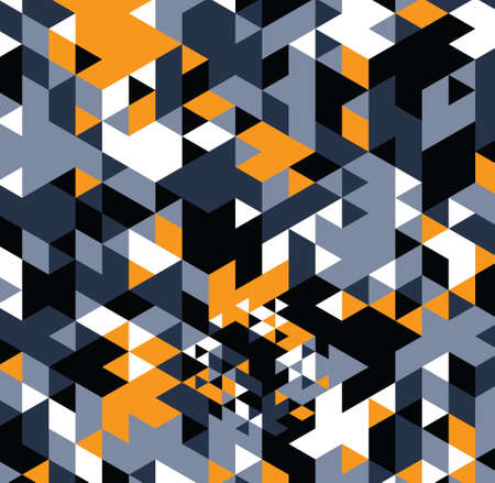 Geometric hipster retro background. Retro triangle vector background Stock Photo - 21151398