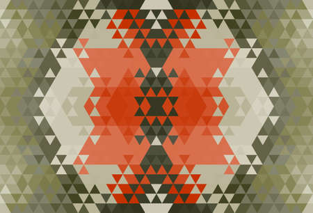 Geometric hipster retro background. Retro triangle vector background Stock Photo - 21151399