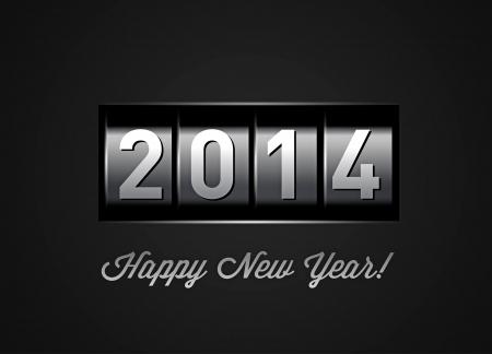Nuovo contatore Anno 2014 su nero