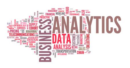 metrics: Background concept illustration of analytics business analysis. Vector Illustration