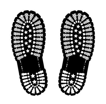 Impresión del zapato