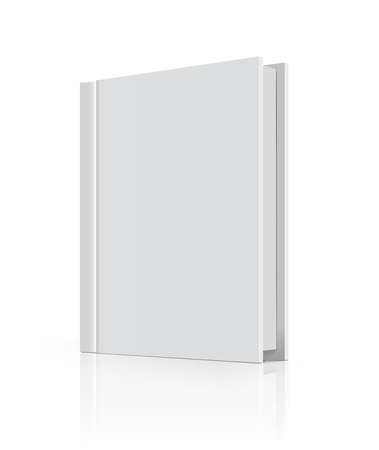 cover up: Blank book cover