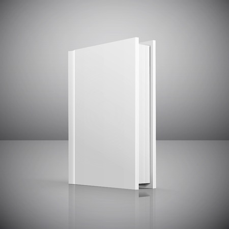 blank magazine: Blank book cover