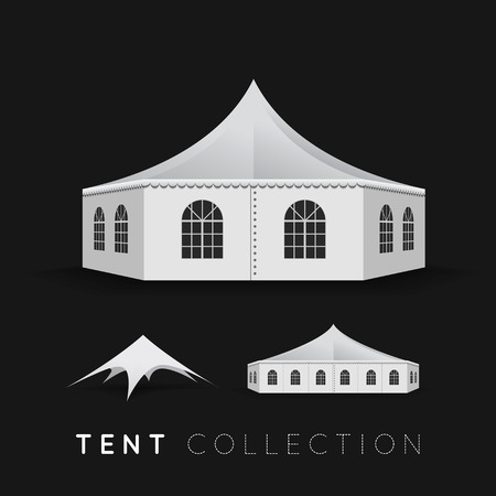 car garden: Set of tents