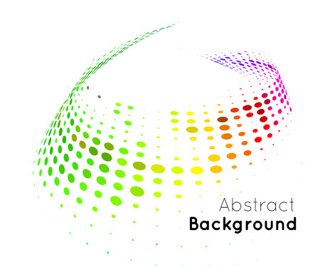Abstract color vector background