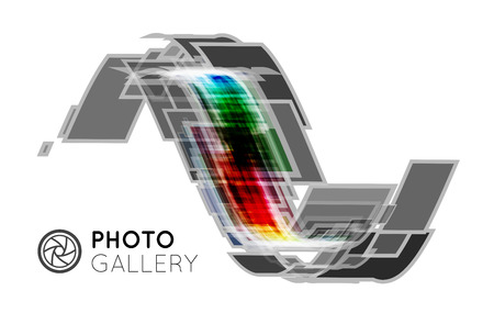 Portfolio for a photographer or studio Illustration