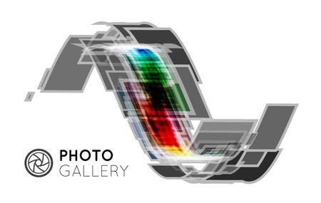 studio picture: Portfolio for a photographer or studio Illustration