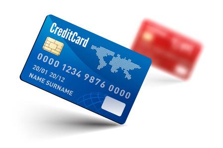 Realistic vector Credit Card Vector