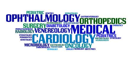 specialization: Medical specialization Illustration