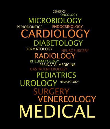 oncology: Medical specialization Illustration