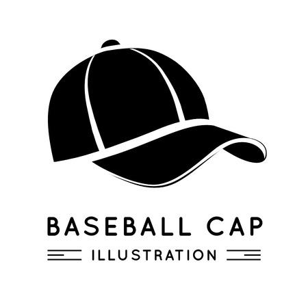 cap: Baseball Cap Illustration