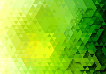 Triangle abstract background illustration Vector
