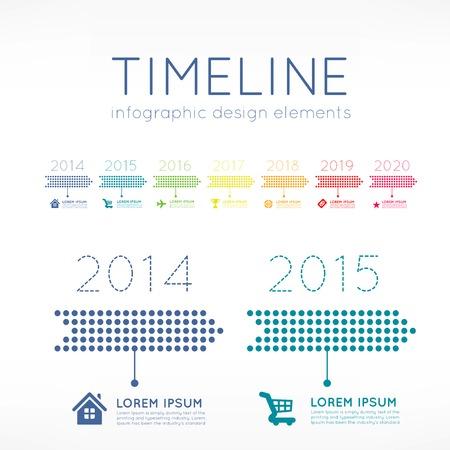 timelines: Timeline infographic