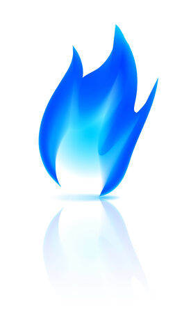 gas fire: Gas fire icon