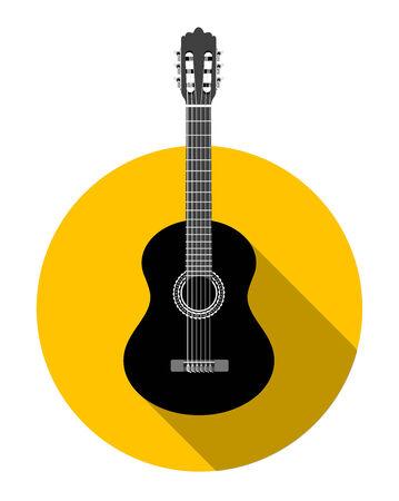 guitar neck: Classical guitar