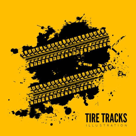 skidding: Tire track background