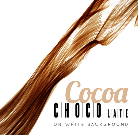 chocolate splash: Chocolate splash Illustration