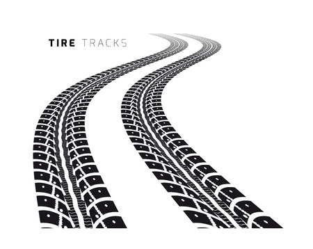 prints mark: Tire tracks