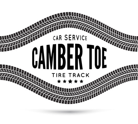 road marks: Camber and toe-car service