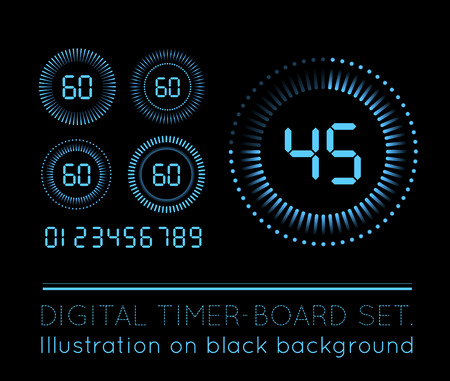 digital timer: Digital Countdown Timer