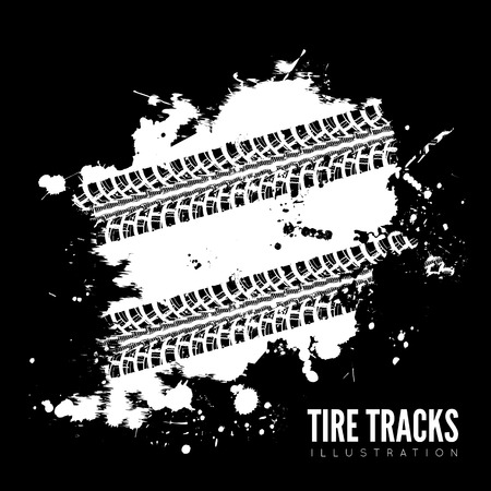 skid marks: Tire track background