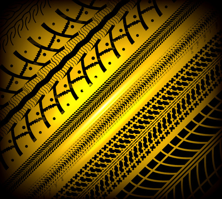 treads: Tire tracks