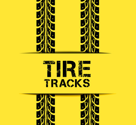 tire: Tire track background