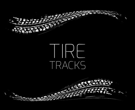 bike tire: Tire tracks background
