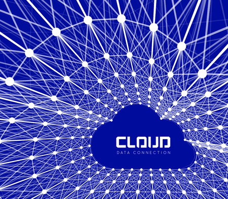 cloud background: Creative cloud background