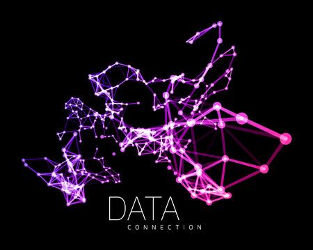 抽象的なネットワーク接続のバック グラウンド