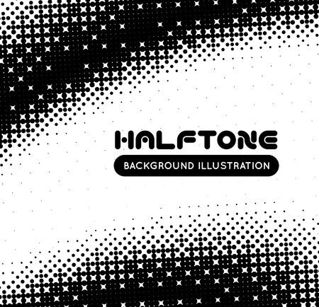 gradation art: Halftone background