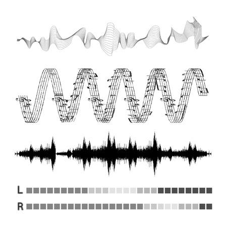 Vector sound waves set