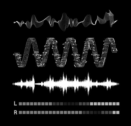 sonic: Vector sound waves set