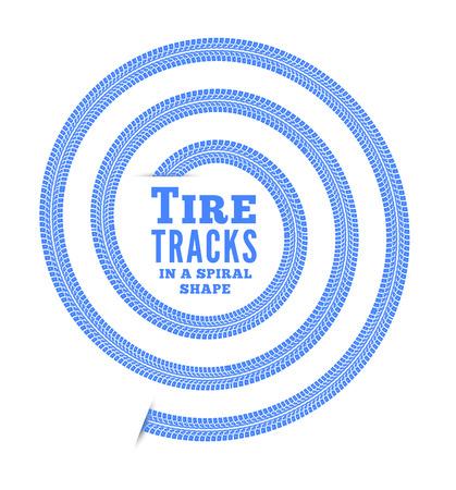 bike tire: Tire tracks