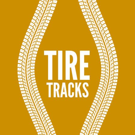 road marks: Tire tracks