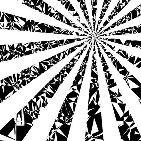 sun flares: Sun rays. grunge background on white Illustration