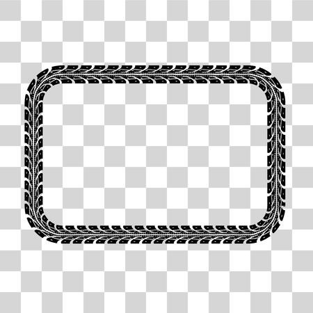 llantas: El neumático sigue el conjunto de cuadros. ilustración de fondo de cuadros