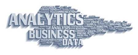 metrics: Background concept illustration of analytics business analysis. Illustration
