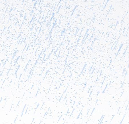 rainy sky: Rainy sky vector illustration on a white background