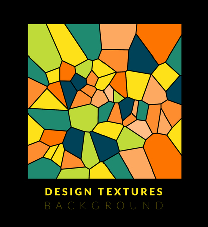 abstact: Abstact voronoi design background. Geometric vector illustration Illustration