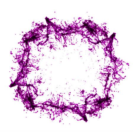 Red wine splash. Vector illsustration on white background Illustration