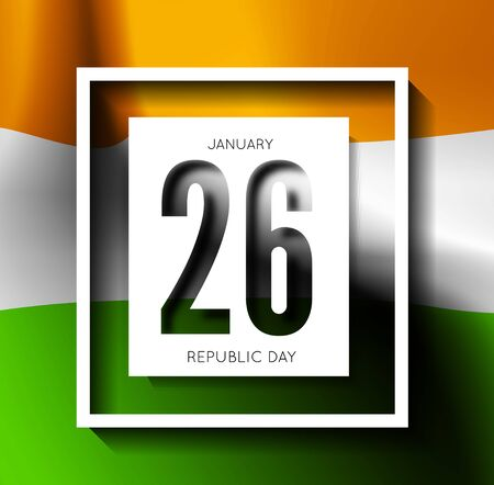 republic: Indian Republic Day vector background