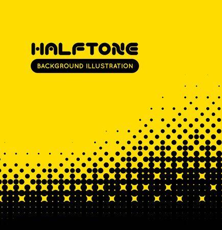 textured effect: Halftone vector background