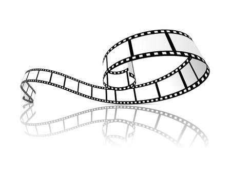 Filmstreifen Vektor-Illustration Vektorgrafik