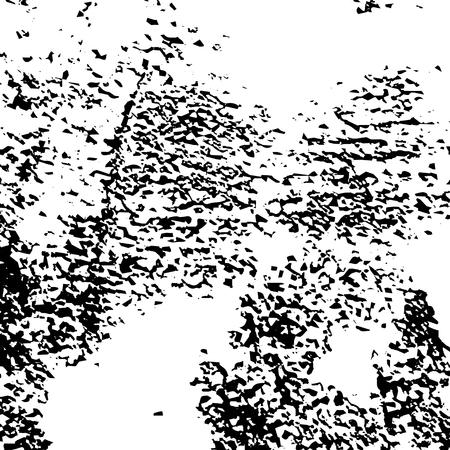 Texture grunge. Modèle vectoriel abstrait avec des éléments de bruit et de saleté Vecteurs
