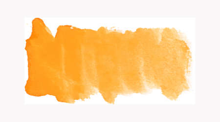 Watercolor splash texture. Blob, spot hand-drawn frame on white background