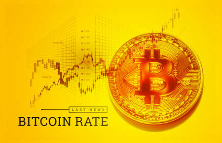 Trading bitcoin on the exchange. The growth of the bitcoin rate. Cryptocurrency exchange quotes