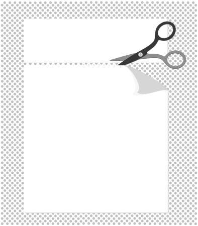 Cut corners Illustration