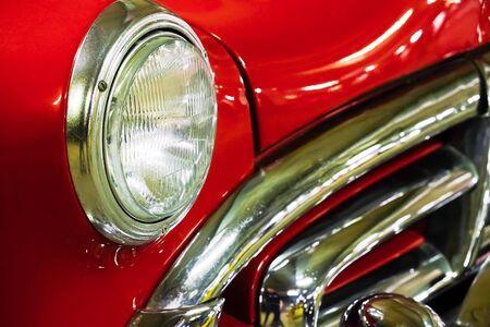 fragment red vintage car