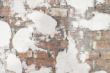 plaster on walls Banque d'images